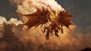 Digital Art Fantasy Art Creature Steampunk Godfrey Escota 2400x1600 wallpaper