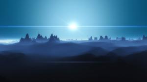 Sci Fi Landscape 1680x1050 wallpaper