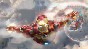 Iron Man Marvel Comics 3840x1646 Wallpaper