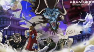 Kaido One Piece Monkey D Luffy 4096x2200 Wallpaper