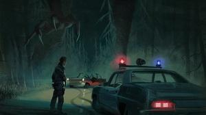 Dark Man Monster Night Police 1920x1353 Wallpaper