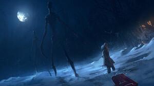 Alien Child Night 1920x1080 Wallpaper