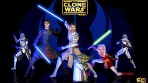Ahsoka Tano Blue Lightsaber Captain Rex Clone Trooper Commander Cody Green Lightsaber Jedi Lightsabe 1920x1200 Wallpaper