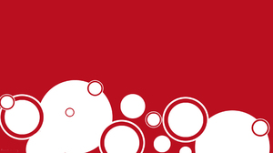 Abstract Circle Red Background 1920x1080 Wallpaper
