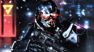 Killzone Shadow Fall Killzone Video Games 1920x1241 Wallpaper