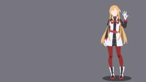 Asuna Yuuki Minimalist Sword Art Online Sword Art Online Ordinal Scale 1920x1080 Wallpaper
