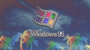 Aesthetic Vaporwave Windows Windows 95 1920x1080 Wallpaper