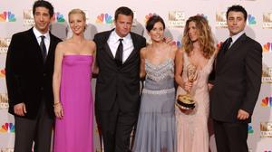 Courteney Cox David Schwimmer Friends Tv Show Jennifer Aniston Lisa Kudrow Matt Leblanc Matthew Perr 3000x2015 wallpaper