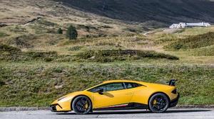 Car Lamborghini Lamborghini Huracan Sport Car Supercar Yellow Car 2048x1365 Wallpaper