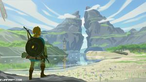 Link The Legend Of Zelda Breath Of The Wild 3088x1452 Wallpaper