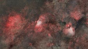 Nebula Space Stars 2048x1122 Wallpaper