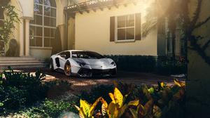 Vehicles Lamborghini Aventador 7360x4912 Wallpaper