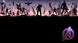 Avengers Endgame Avengers Infinity War Groot Thor Star Lord Rocket Raccoon Gamora Drax The Destroyer 3840x2160 Wallpaper