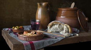 Bread Wine 6016x4000 wallpaper