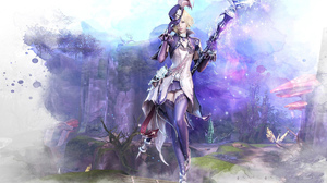 Aion Tower Of Eternity Fantasy Girl Purple Woman 1920x1200 Wallpaper