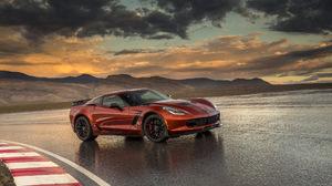 Car Chevrolet Corvette Z06 Coupe Red Car Sport Car 2560x1600 Wallpaper
