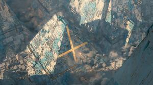Filipo Baracchi Digital Art Fantasy Art Fantasy City Futuristic City Pyramid 1920x1080 Wallpaper