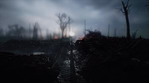 Battlefield 1 Destruction Tank Trenches 2560x1440 Wallpaper