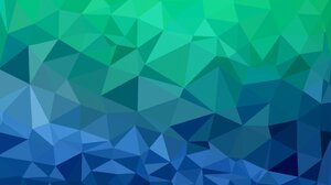 Facets Low Poly 2560x1600 Wallpaper