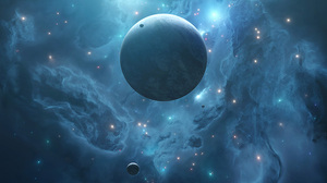 Artwork Digital Art Space Space Art Planet Tim Barton 934x1400 Wallpaper