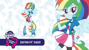 Rainbow Dash Girl 2560x1440 Wallpaper