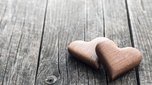 Heart Love Wood 5760x3840 wallpaper