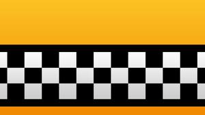 Taxi Pattern 3D Gradient 5120x2880 Wallpaper