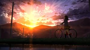 Sunset 2047x1100 Wallpaper