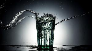 Blur Close Up Glass Water 5760x3840 Wallpaper