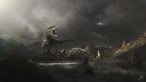 Tyrannosaurus Rex 1920x1080 Wallpaper