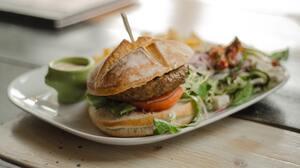 Food Burger 4928x2709 wallpaper