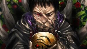 Mask Obito Uchiha Sharingan Naruto 4690x3000 Wallpaper