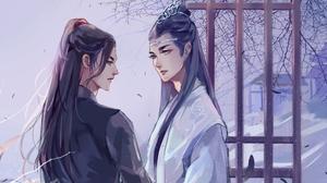 Lan Wangji Lan Zhan Wei Wuxian Wei Ying Xiao Zhan Wang Yibo 2048x1467 Wallpaper