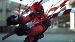 Deadpool Marvel Comics 2714x1610 Wallpaper
