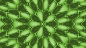 Abstract Digital Art Green Shapes 6000x4000 Wallpaper