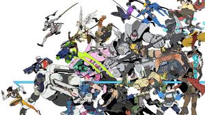 Bastion Overwatch D Va Overwatch Genji Overwatch Hanzo Overwatch Junkrat Overwatch Lucio Overwatch M 3241x2076 Wallpaper