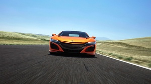 Honda Car Orange Car Sport Car Supercar 3840x2160 Wallpaper