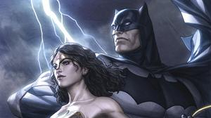 Batman Wonder Woman Dc Comics 2542x1430 Wallpaper
