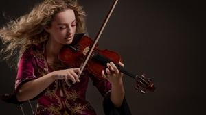 Girl Hair Violin 2000x1333 Wallpaper