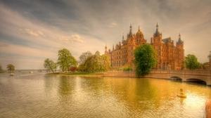 Man Made Schwerin Palace 2560x1440 Wallpaper