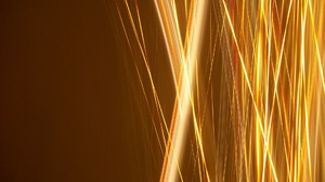 Abstract Artistic Camera Toss Gold Kinetic Light Lines Photography Stripes Time Lapse Yellow 1920x1440 wallpaper