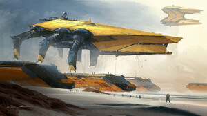 Sci Fi Vehicle 3840x2086 wallpaper