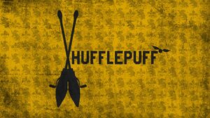 Broom Hufflepuff 2560x1440 Wallpaper
