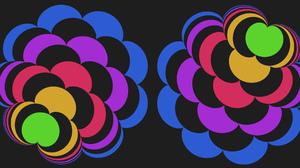 Shapes Colorful Digital Art 1920x1080 Wallpaper