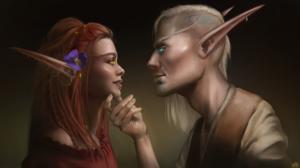 Elves Blood Elves Elf Ears World Of Warcraft World Of Warcraft Battle For Azeroth World Of Warcraft  3840x2160 Wallpaper