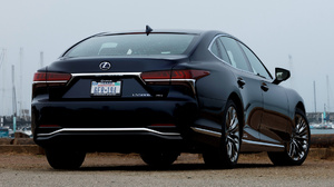 Blue Car Full Size Car Hybrid Car Lexus Ls 500 Lexus Ls 500h Luxury Car Sedan 1920x1080 Wallpaper