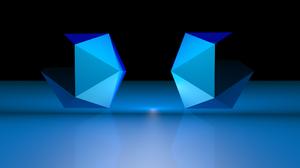 3d Cgi Digital Art Blue 2560x1600 Wallpaper