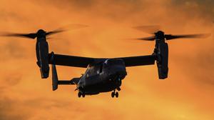 Aircraft Bell Boeing V 22 Osprey Warplane 5472x3648 Wallpaper