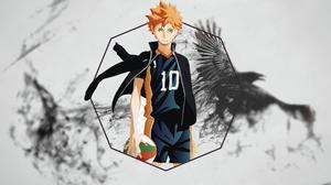 Haikyuu Hinata Shouyou Raven Voleibol 1920x1080 Wallpaper