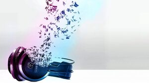Headphones Music Pastel 2880x1800 Wallpaper